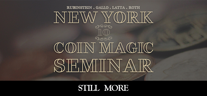 New York Coin Magic Seminar - Volume 10 (Still More)