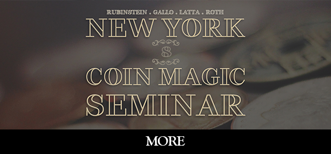 New York Coin Magic Seminar - Volume 8 (More)