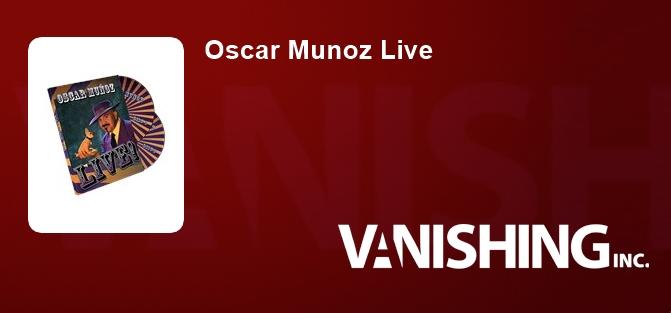 Oscar Munoz Live