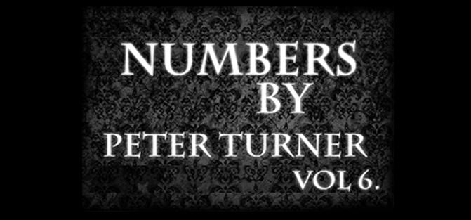 Peter Turner's Mentalism Masterclass - Numbers (Volume 6)