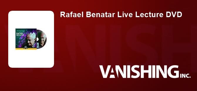 Rafael Benatar Live Lecture DVD