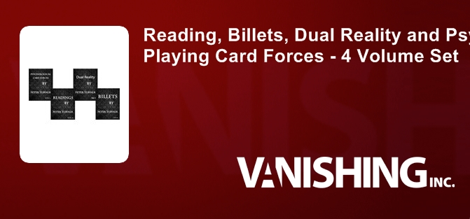 Reading, Billets, Dual Reality and Psychological Playing Card Forces (4 Volume Set)