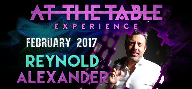 Reynold Alexander Live Lecture