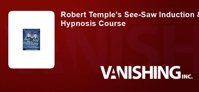 Robert Temple's See-Saw Induction & Comedy Hypnosis Course