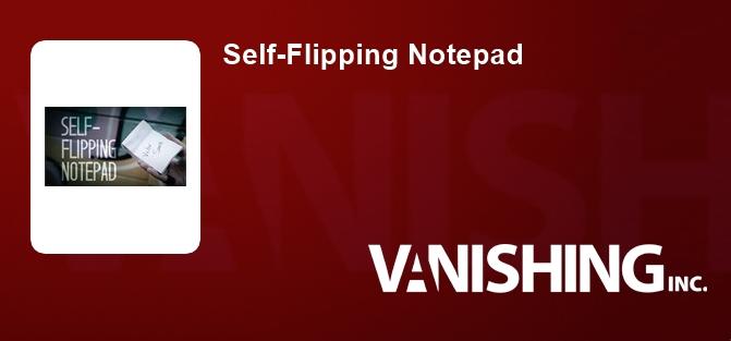Self-Flipping Notepad