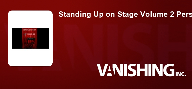 Standing Up on Stage Volume 2 Personality Pieces