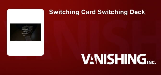 Switching Card Switching Deck