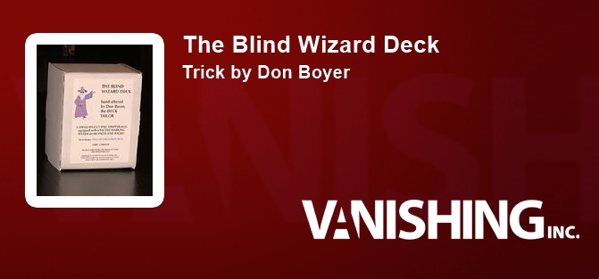 The Blind Wizard Deck
