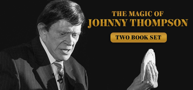 The Magic of Johnny Thompson (2 Book Set)
