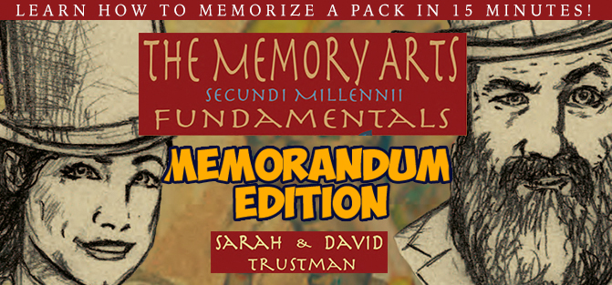 The Memory Arts - Memorandum Edition