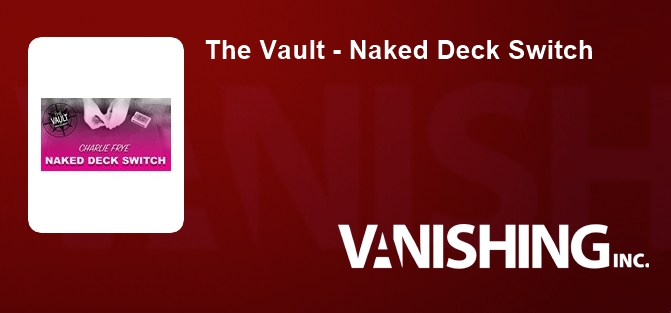 The Vault - Naked Deck Switch