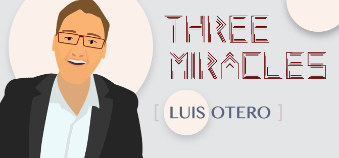 Image result for Three Miracles by Luis Otero