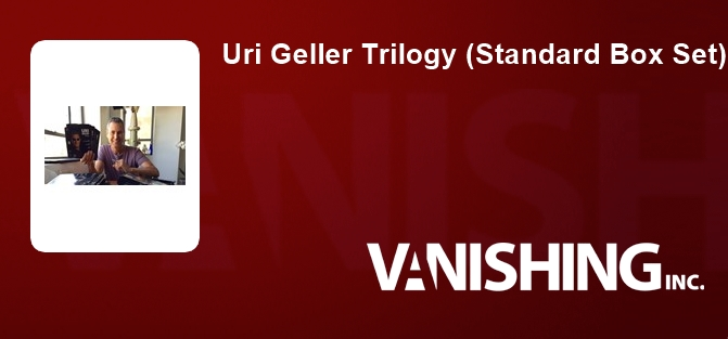 Uri Geller Trilogy (Standard Box Set)