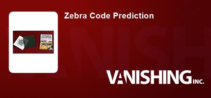 Zebra Code Prediction