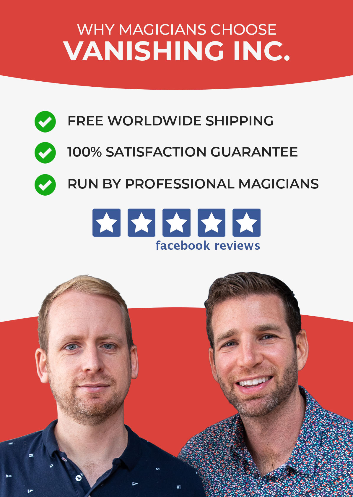 Why magicians choose Vanishing Inc. magic shop